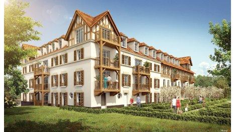 Appartement neuf Résidence Andersen investissement loi Pinel à Trouville-sur-Mer