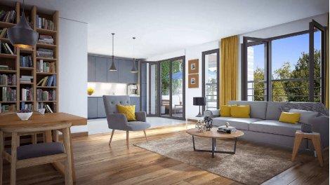 Appartement neuf Central Ouest investissement loi Pinel à Boulogne-Billancourt