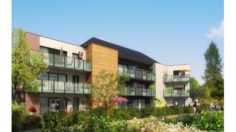 Appartement neuf Versatii TR1 investissement loi Pinel à Honfleur