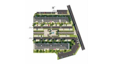 Appartement neuf Les Allées Viretii TR2 investissement loi Pinel à Vernon