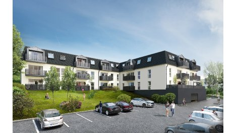 Appartement neuf Monastii investissement loi Pinel à Montivilliers