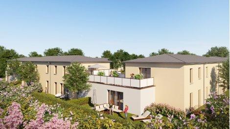 Appartement neuf Clos Tamarii investissement loi Pinel à Eterville