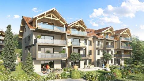 Appartement neuf Eloge du Parmelan investissement loi Pinel à Poisy