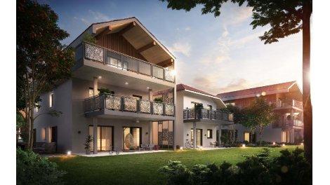 Appartement neuf Domaine de Soral investissement loi Pinel à Saint-Julien-en-Genevois