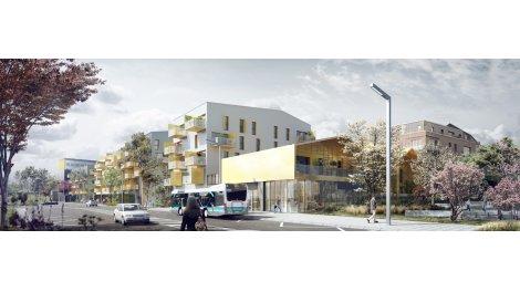 Appartement neuf Convergences éco-habitat à Rennes