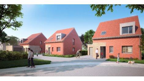 Maisons neuves Les Jardins du Bourg investissement loi Pinel à Vendeville