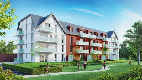 Appartement neuf Redparc investissement loi Pinel à Frelinghien