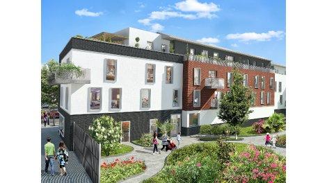 Appartement neuf Le Carré des Poètes investissement loi Pinel à Crosne