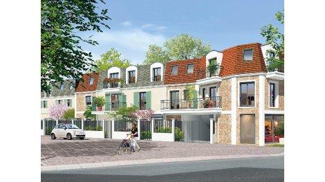 Appartements et maisons neuves Le Wedge investissement loi Pinel à Garches