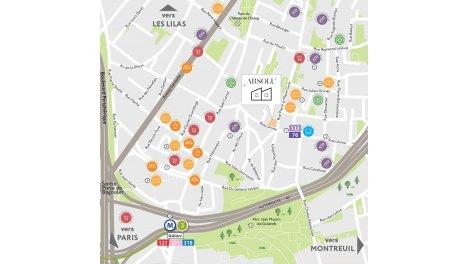 Appartement neuf Absolu investissement loi Pinel à Bagnolet