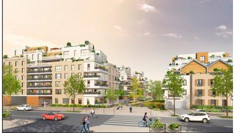 Appartement neuf Signature investissement loi Pinel à Poissy
