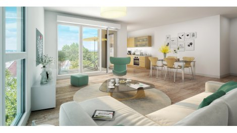 Appartement neuf Horizon investissement loi Pinel à Jouy-le-Moutier