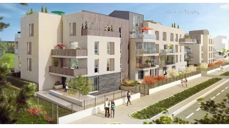 Appartement neuf Les Toits du Golf Tranche 1 éco-habitat à Bezannes