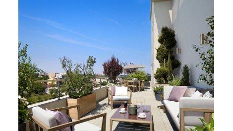Appartement neuf Le Belvédère investissement loi Pinel à Rosny-sous-Bois