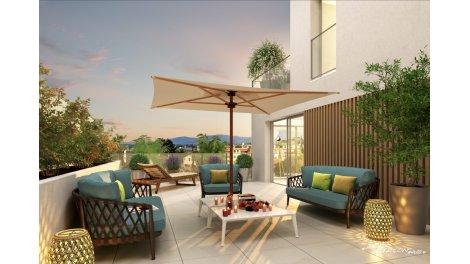 Appartement neuf Le Jardin de Matisse investissement loi Pinel à Saint-Laurent-du-Var