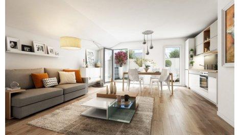 Appartement neuf Le 62 Wilson investissement loi Pinel à Romainville