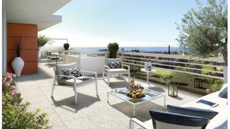 Appartement neuf Cap Azur investissement loi Pinel à Saint-Laurent-du-Var