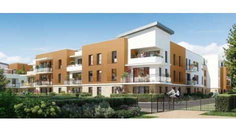 Appartement neuf Les Jardins d'Occitanie éco-habitat à Maurepas