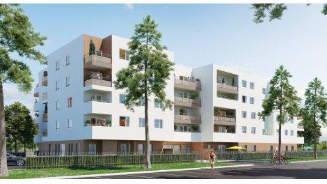 Appartement neuf Le Domaine des Acacias investissement loi Pinel à Saint-Fons