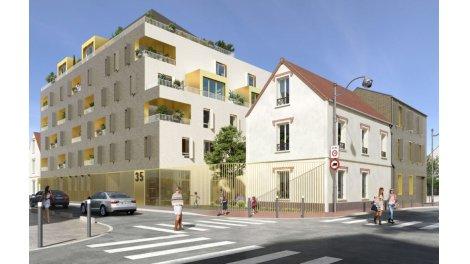 Appartement neuf 3-5 Mazoyer éco-habitat à Aubervilliers