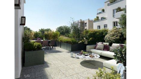 Appartement neuf Coté Parc investissement loi Pinel à Saint-Denis