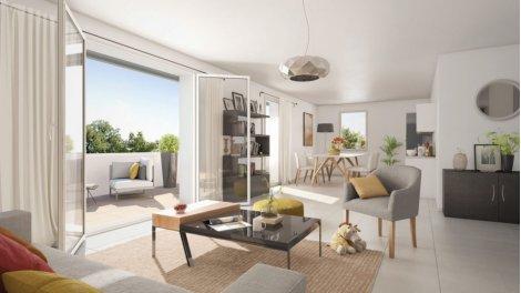 Appartement neuf Le Clos du Chêne investissement loi Pinel à Toulouse