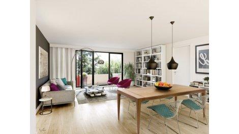 Appartement neuf Les Jardins de la Cour éco-habitat à Saint-Cyr-l'Ecole