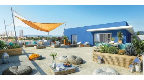 Appartement neuf Villa Saphir investissement loi Pinel à Marseille 9ème