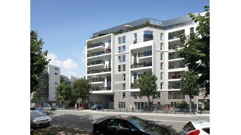 Appartement neuf 62, Roosevelt investissement loi Pinel à Aubervilliers