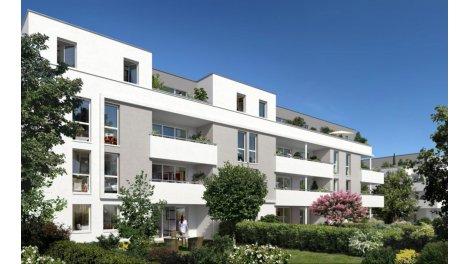 Appartement neuf Carré Demoiselles éco-habitat à Toulouse