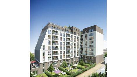 Appartement neuf Jardins en Ville éco-habitat à Bondy