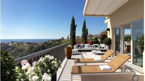 Appartement neuf Les Terrasses investissement loi Pinel à Nice