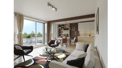 Appartement neuf Les Allées Mozart éco-habitat à Toulouse
