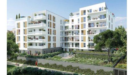 Appartement neuf Les Balcons du Mail investissement loi Pinel à Cergy