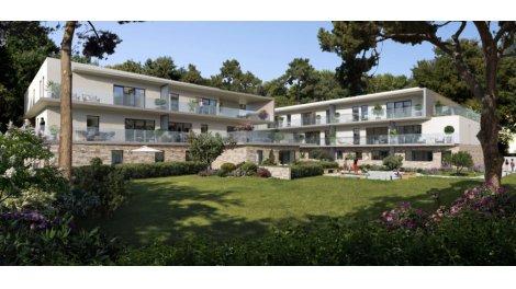Appartement neuf L'Ecrin des Grèzes éco-habitat à Montpellier