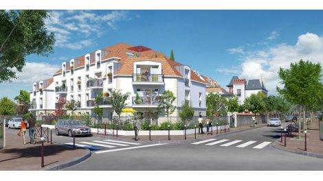 Appartement neuf Villa Jaguin éco-habitat à Créteil