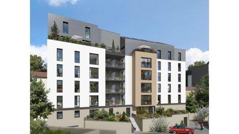 Appartement neuf Carré Zola éco-habitat à Nantes