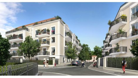 Appartement neuf Les Terrasses Joffre éco-habitat à Noisy-le-Grand