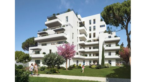 Appartement neuf La Canopée éco-habitat à Montpellier