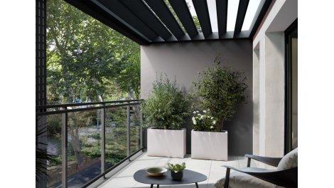 Appartement neuf L'Ecrin Brienne éco-habitat à Toulouse