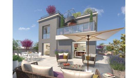 Appartement neuf 6 Avenue Jean Francois Raclet investissement loi Pinel à Lyon 7ème