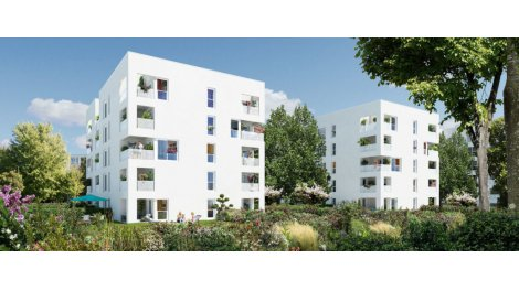 Appartement neuf City Garden investissement loi Pinel à Vénissieux