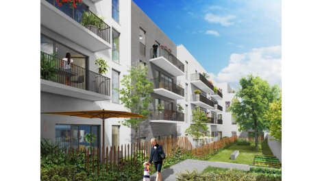 Appartement neuf Chemin des Iris investissement loi Pinel à La Courneuve