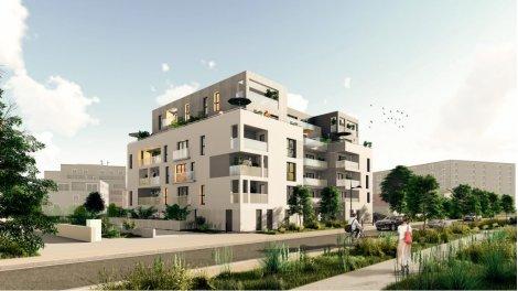 Appartement neuf Les Hauts Romanet investissement loi Pinel à Saint-Herblain