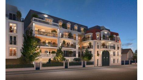 Appartement neuf La Seigneurie éco-habitat à Le Blanc Mesnil