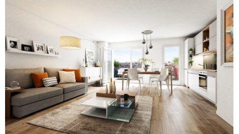 Appartement neuf Avenue Champion éco-habitat à Le Plessis Trévise