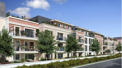 Appartement neuf Villa Carnot éco-habitat à Croissy-sur-Seine