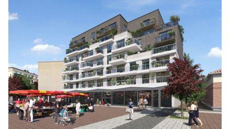 Appartement neuf Place Jacob investissement loi Pinel à Livry-Gargan
