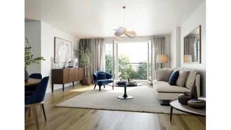 Appartement neuf Jardin de l'Arche éco-habitat à Montpellier