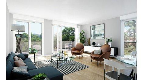 Appartement neuf Les Villas de Manissieux investissement loi Pinel à Saint-Priest